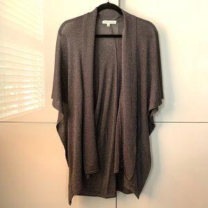 Melanie Lyne draped poncho size L